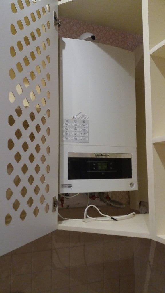 Белый кухонный гарнитур-Кухня МДФ в ПВХ «Модель 69»-фото7