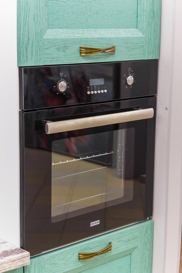 Встроенная кухня-Кухня из массива «Модель 46»-фото3
