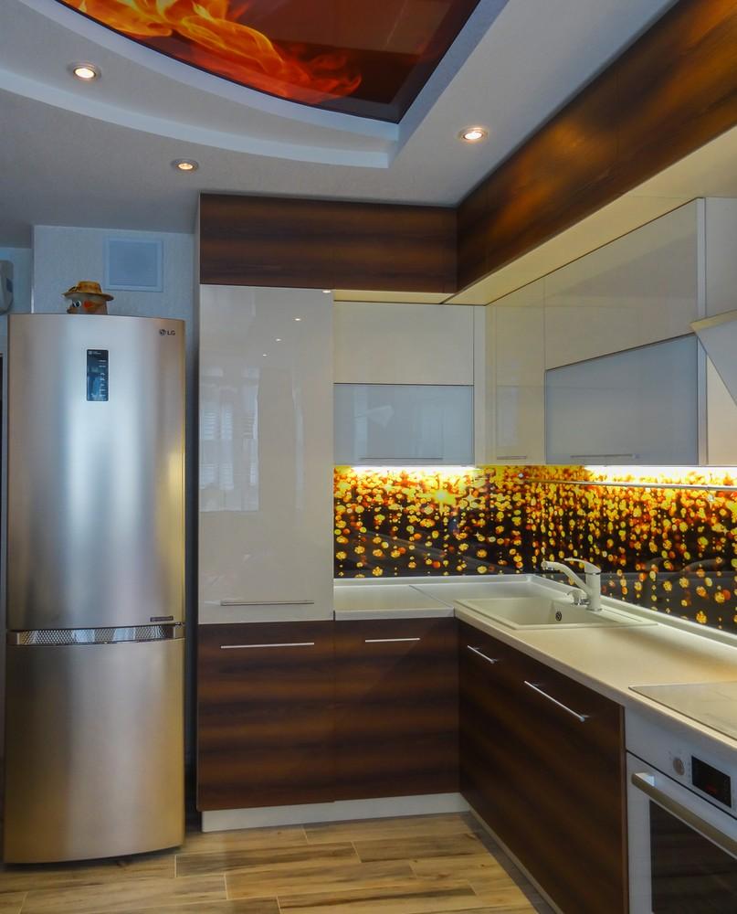 Акриловые кухни-Кухня из акрила «Модель 299»-фото2