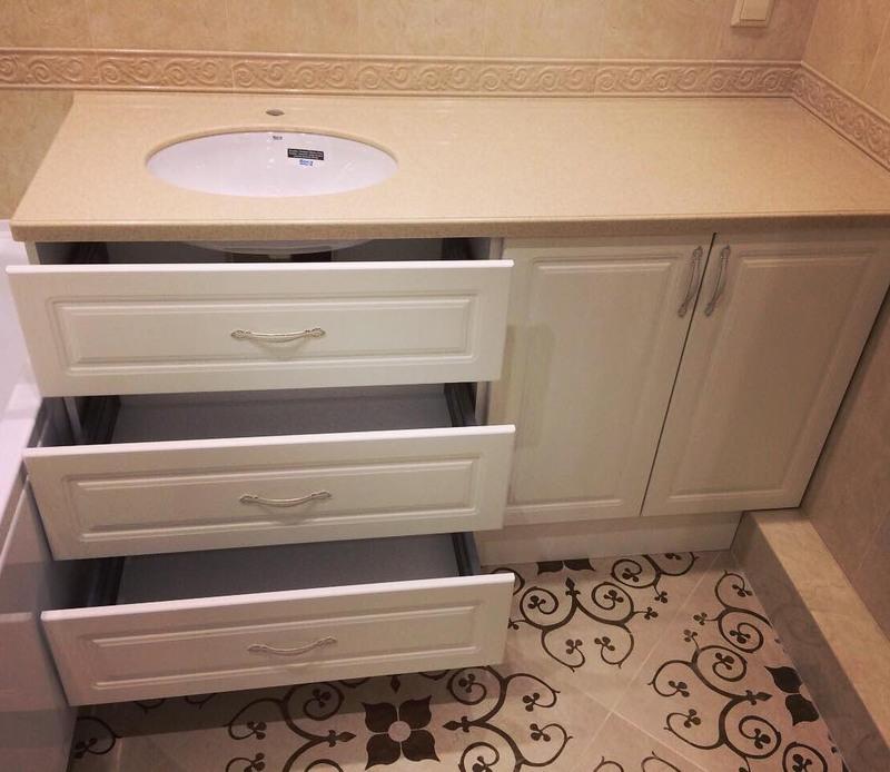 Мебель для ванной комнаты-Мебель для ванной «Модель 35»-фото1