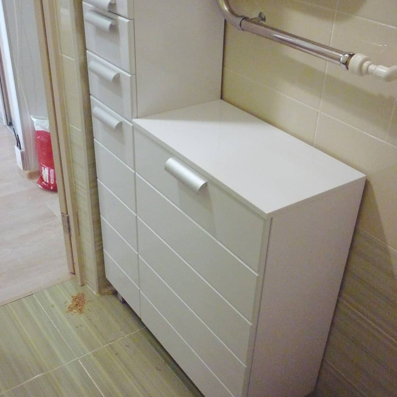 Мебель для ванной комнаты-Мебель для ванной «Модель 75»-фото1