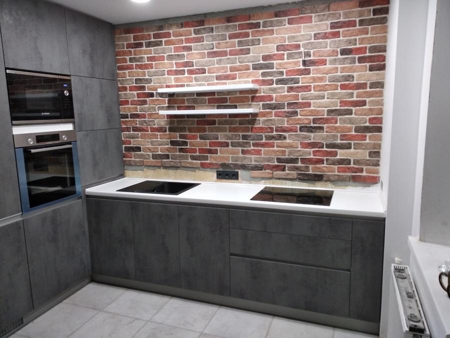 Купить кухню-Кухня МДФ в ПВХ «Модель 442»-фото2