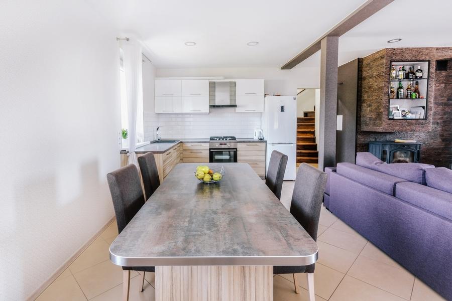 Акриловые кухни-Кухня из акрила «Модель 413»-фото1