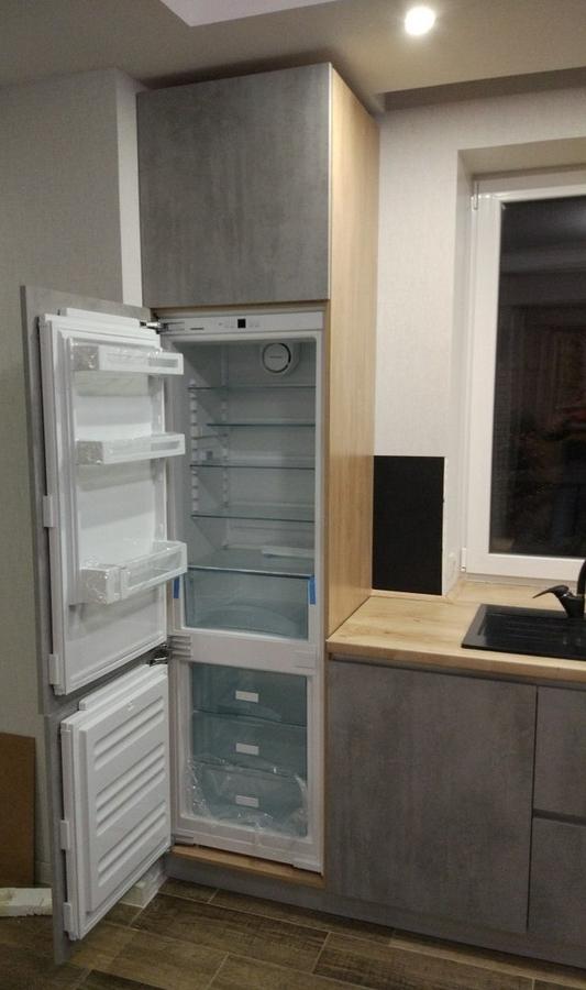 Встроенная кухня-Кухня из пластика «Модель 450»-фото6