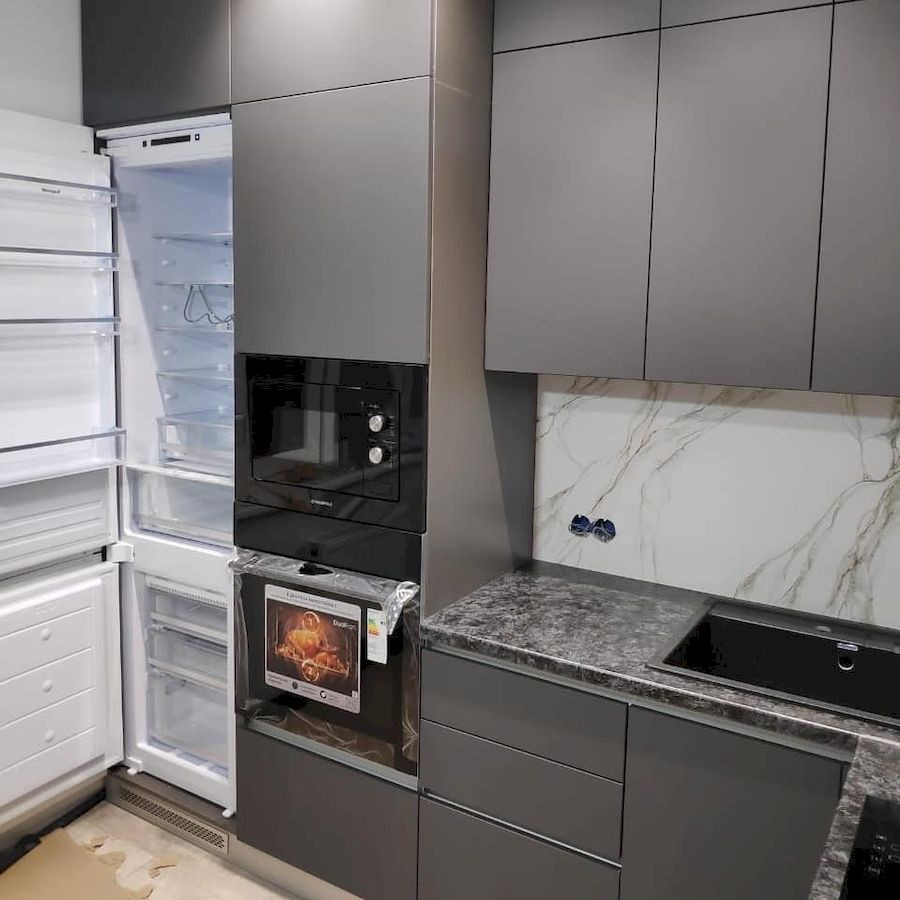 Купить кухню-Кухня МДФ в ПВХ «Модель 673»-фото2