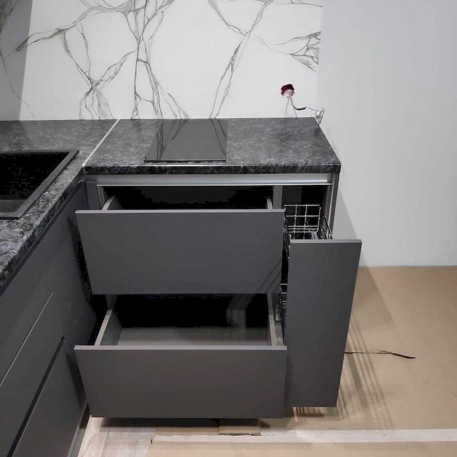 Купить кухню-Кухня МДФ в ПВХ «Модель 673»-фото5