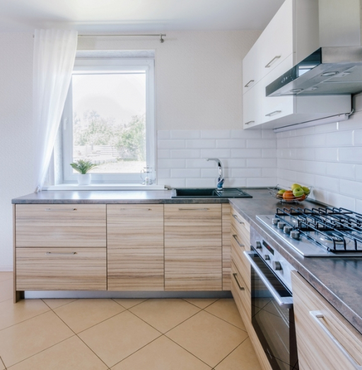 Акриловые кухни-Кухня из акрила «Модель 413»-фото4