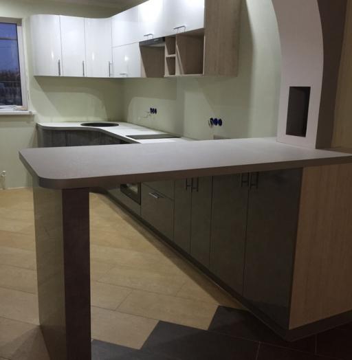 Белый кухонный гарнитур-Кухня «Модель 507»-фото8
