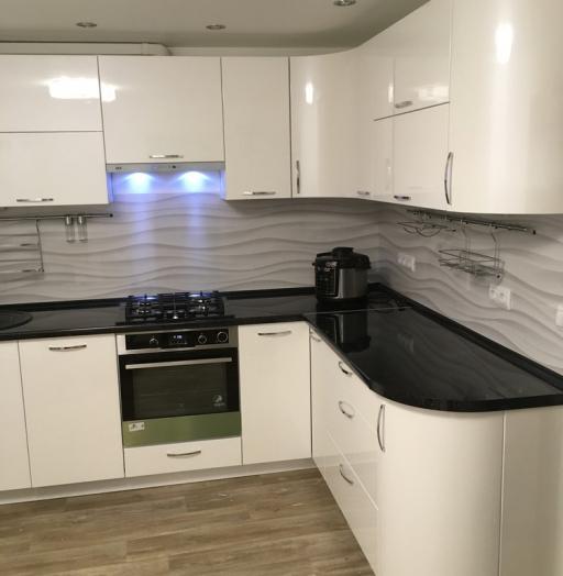 -Кухня МДФ в ПВХ «Модель 311»-фото11