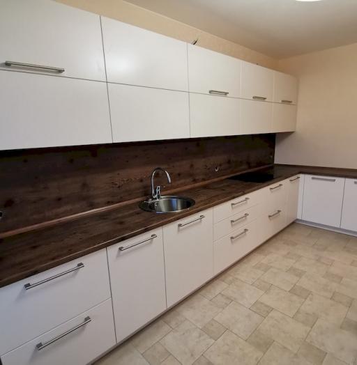 Белый кухонный гарнитур-Кухня МДФ в ПВХ «Модель 579»-фото9
