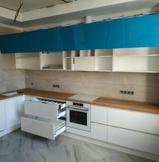 -Кухня МДФ в эмали «Модель 625»-фото24