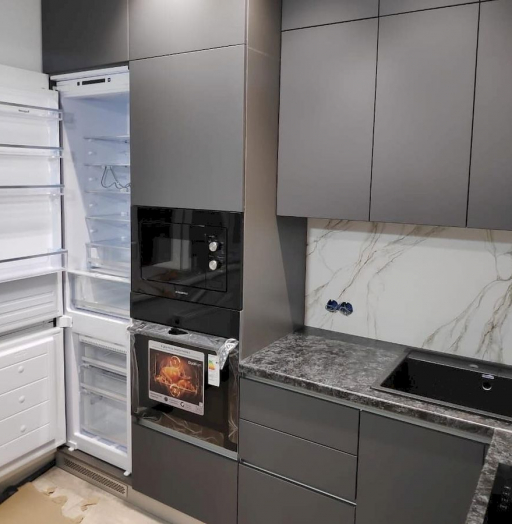 Купить кухню-Кухня МДФ в ПВХ «Модель 673»-фото6